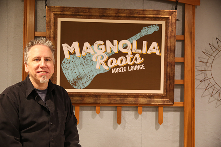 Sugar Magnolia Café's Howard Sadel opened Magnolia Roots to showcase local acts.
