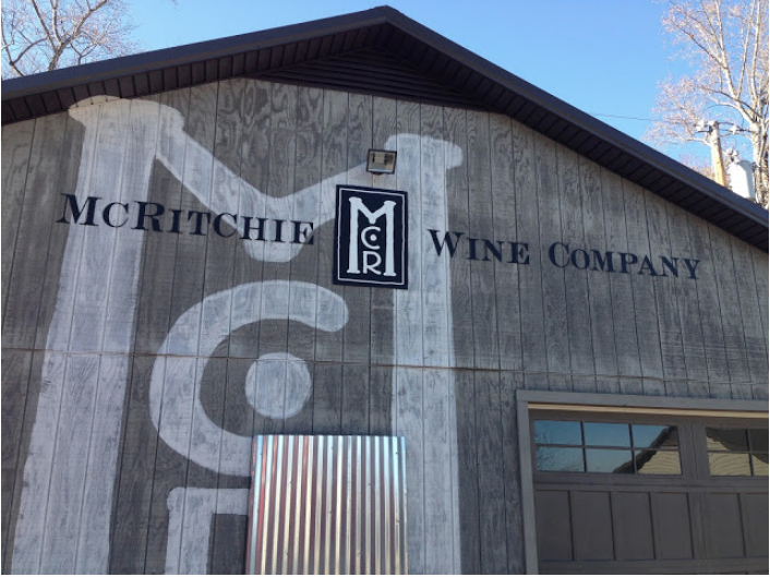McRitchie Winery & Ciderworks out of Thurmond, N.C.  Inside some of the smaller wineries you can learn more about the wine you are tasting.