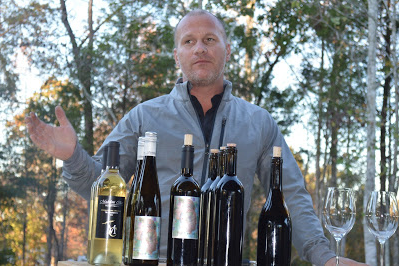 Joey Medaloni, winemaker and owner of Medaloni Cellars in Lewisville.