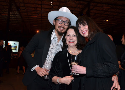 Eliza Kraft Olander, center, at the 2016 Triangle Wine Experience Gala.