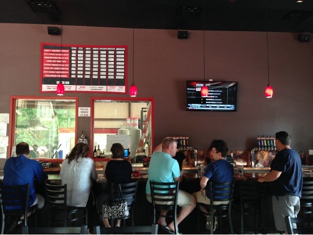 Bombshell Beer Company is located in Holly Springs