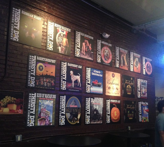 Akron, Ohio is home to Thirsty Dog