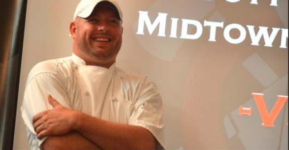 Chef Scott James of Midtown Grille in Raleigh has made it to the Fire in the Triangle finals.