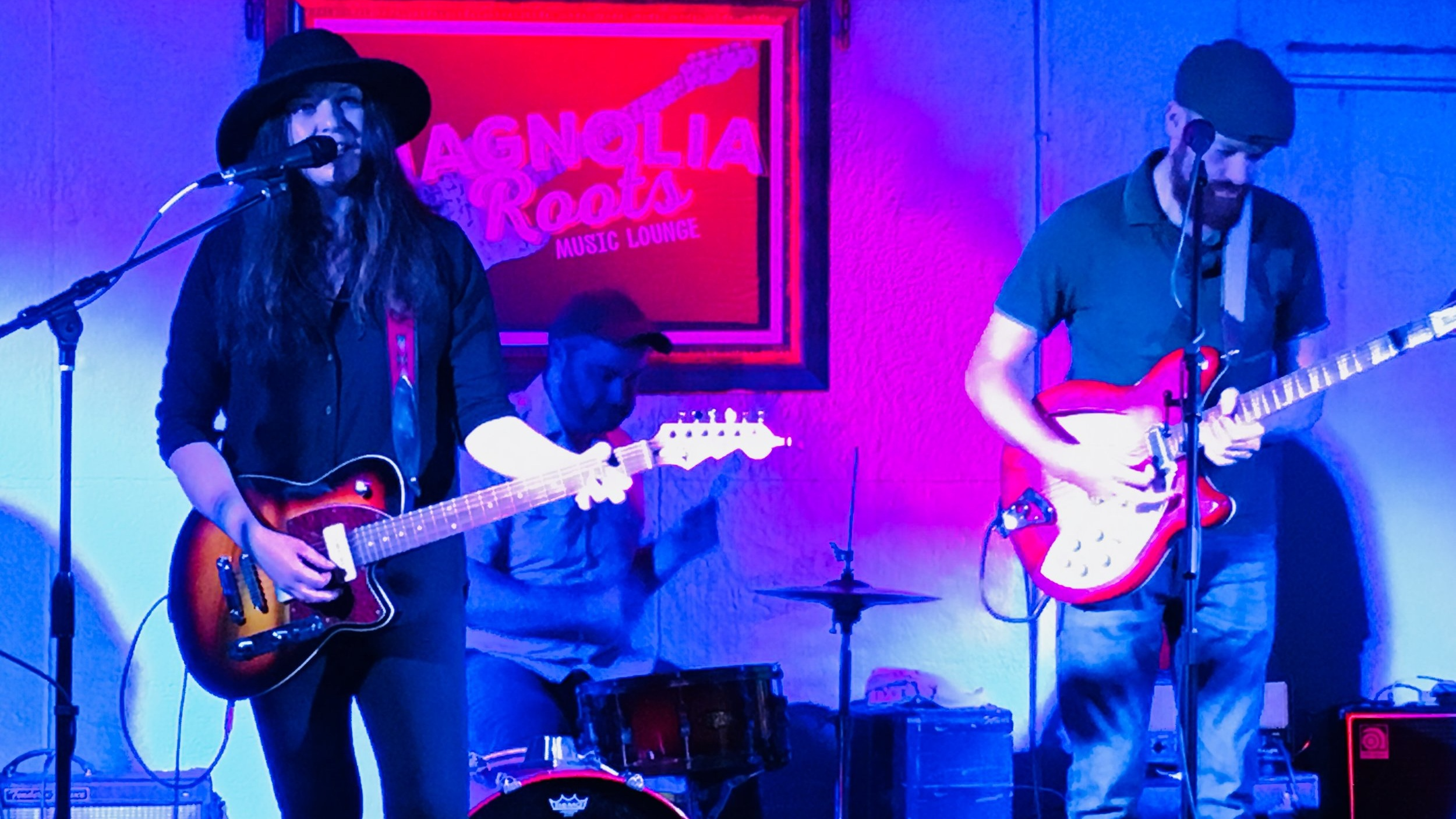 Asbury Park's Lowlight was the headline at the Sofar event at Magnolia Roots in Wake Forest.