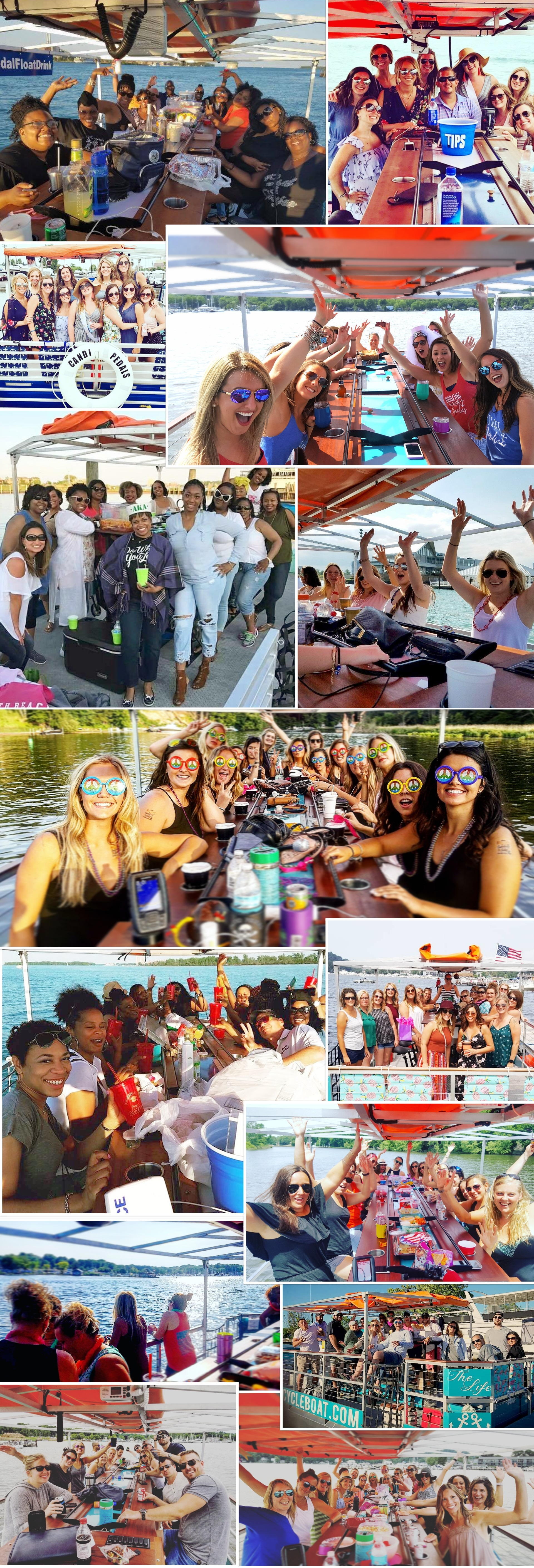 Cincy Cycle Boat is bringing the party to the Ohio River! Cincinnati's first floating bar!