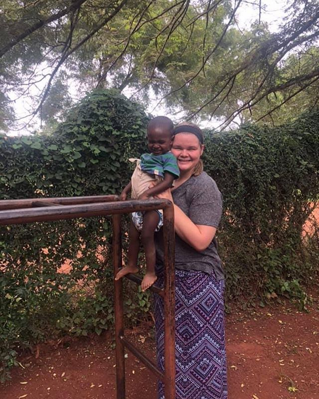 "Emily is back from Uganda! Here are some of her amazing words from her trip, were so proud of you Emily! ""This was my first mission trip. I went to Jinja, Uganda for 2 weeks with Heal Ministries and let me tell you...the whole thing was amazing. We served at the ""James Place"" which is named after the verse James 1:27 about taking care of abandoned women and children. I had an incredible team & with the best leaders. I have made the best friends ever from this. It's really hard to put everything into one comment. Heal was started because Uganda has a high number of abandoned women and children. Ugandan women work at heal (they each have a trade - whether it be sewing, pottery, jewelry, etc). Most of the women have kids that are enrolled in the daycare/preschool. While the women work, the kids have a place to get a foundation for education. English is big in Uganda so the kids have to know it before they graduate and move on to primary school. Heal advocates for family preservation and keeping families together. The women were in control and told us what we needed to do to help & I loved that. It was great to be able to work/play with the kids whether it be in the classroom or having tire races out on the playground. I just really loved it. Right when we got there I already didn't want to leave. 2 weeks was too short, but at the same time, it was good to dip our toes in the water of what it would be like to intern there. I'm going to go back and intern hopefully in the upcoming summers. If I had to paint a visual picture of what love and community looks like, I would think of Uganda where joy and Jesus fills every corner."" 💛 #bekind #stickupforlove"