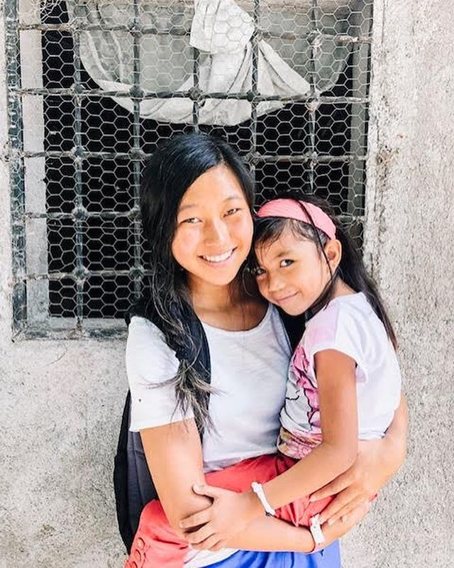 "Kelly is back from Honduras! Here is what she has to say about her trip: "" This was my first mission trip and I traveled to San Lorenzo Honduras. Going on this trip was one of the best decisions I've made in my life and I'm so grateful I had the opportunity to go serve the lord. During my trip we made pilas, cement floors, and latrines. It is unreal how much this experience has taught me so much in so little time. It was amazing seeing how well the people and children in the community loved me and my team even though we started off as complete strangers. This was truly an experience I will never forget!"" 💛💛 #bekind #stickupforlove"