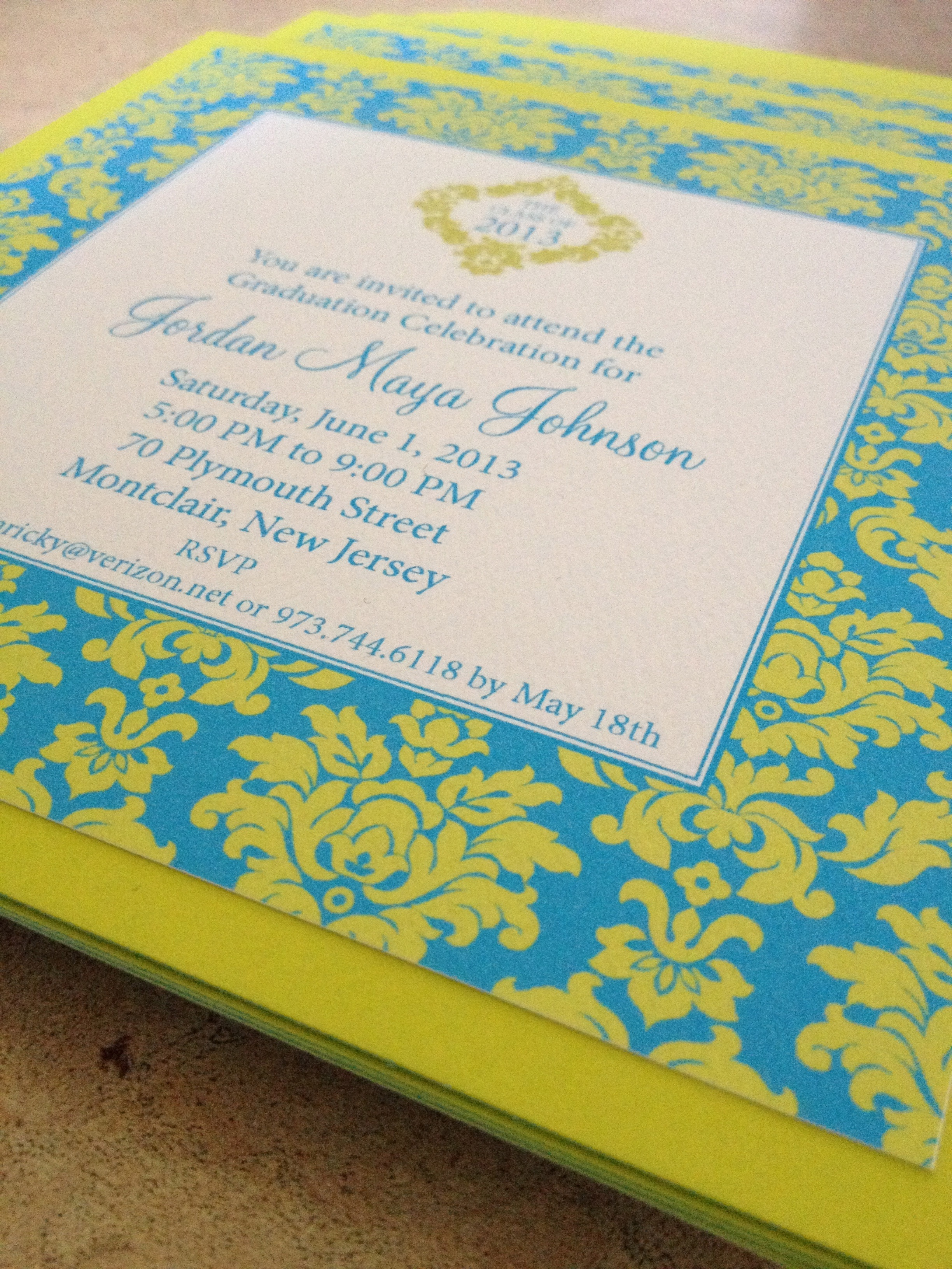 CHERISHED INVITATIONS