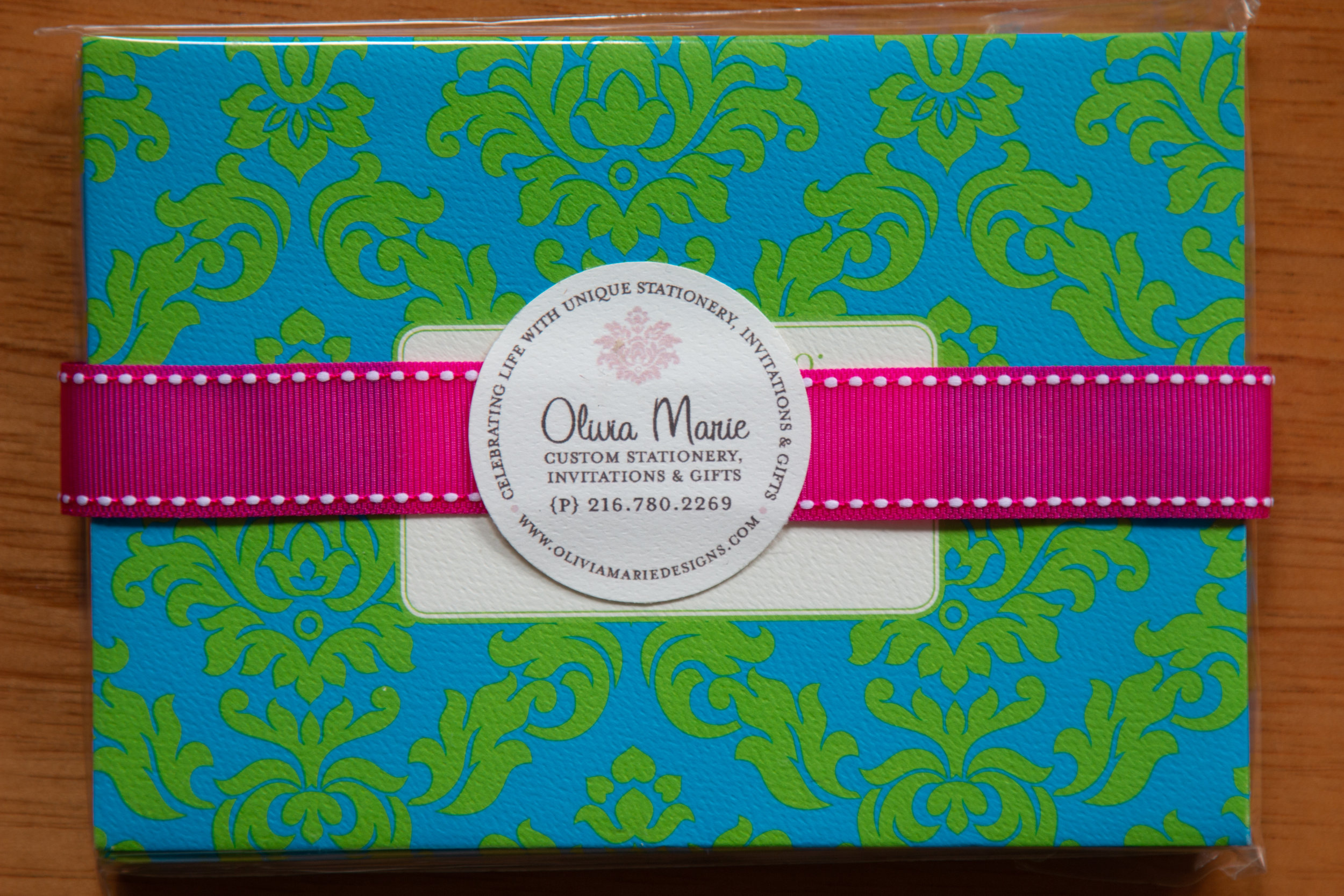 Claire Blue Stationery Set $20