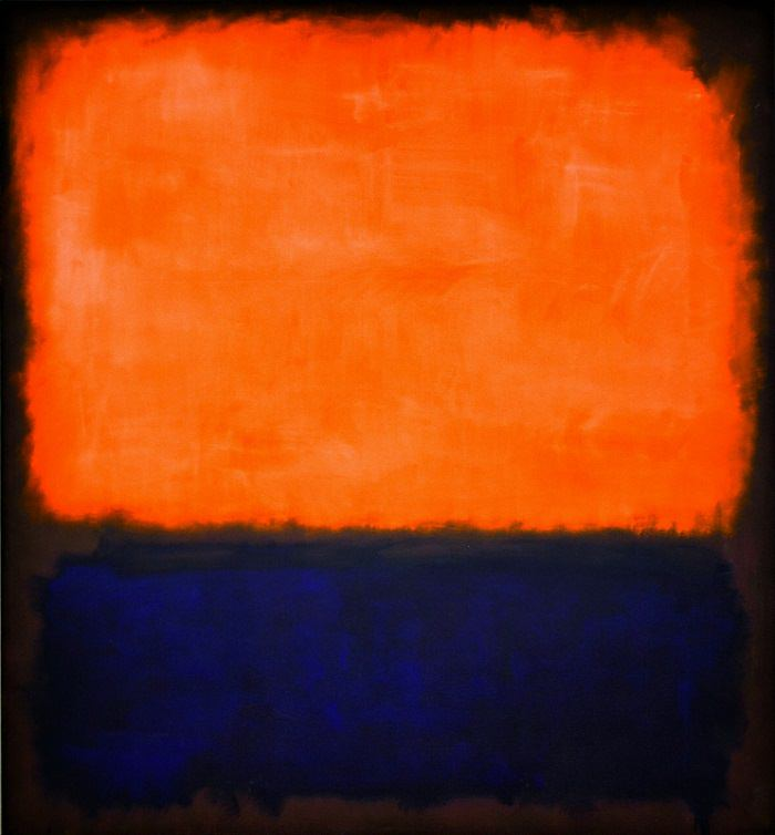 Number 14, (1960) by Mark Rothko   Image Source /  Scoundrel Time  /  scoundreltime.com