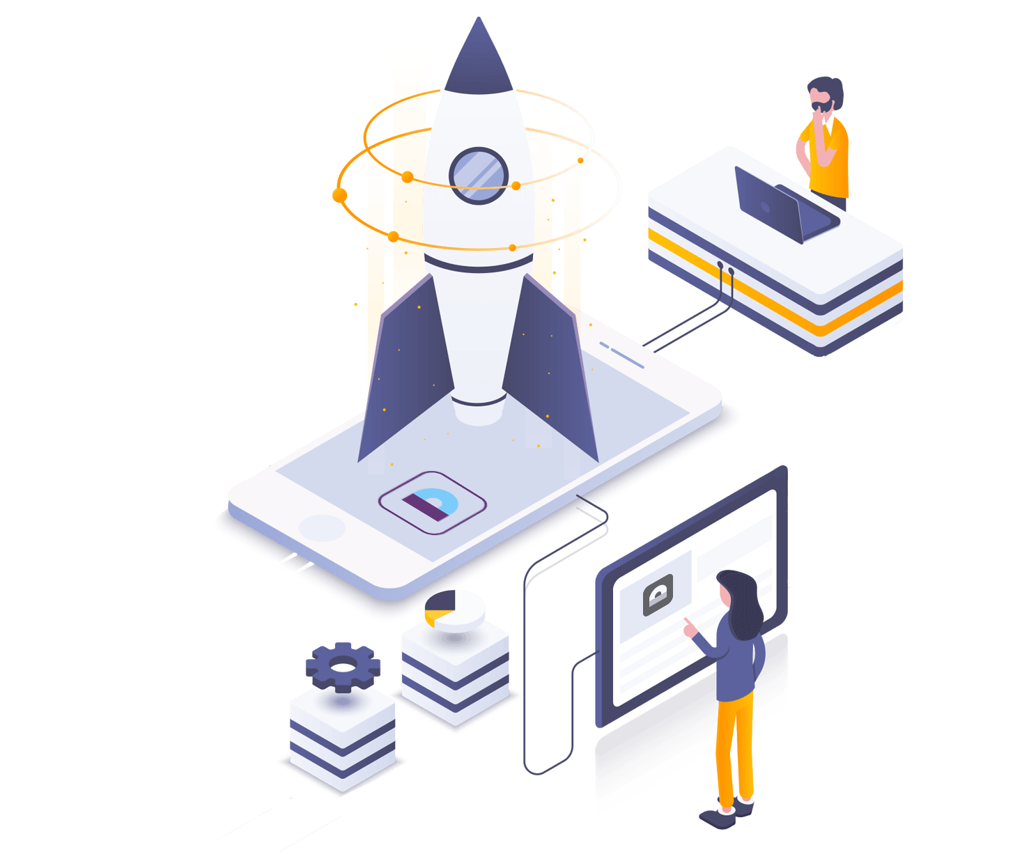 Rocket Isometric Illustration.png