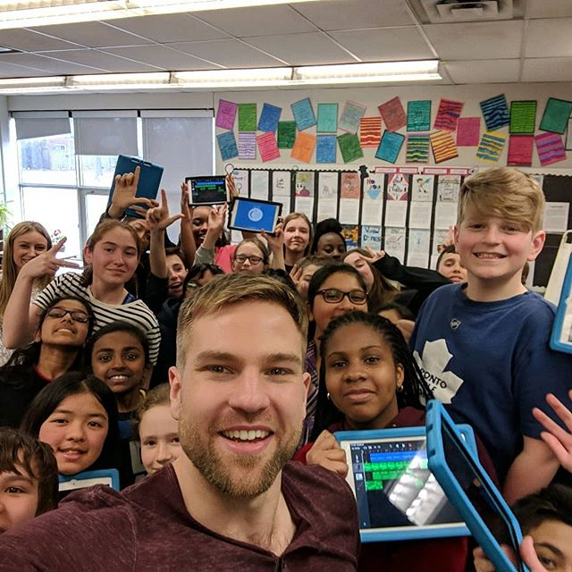 Ms. Donaldson's grade 6 class just wrapped up the Music Producer Experience with Adam and had an absolute blast!