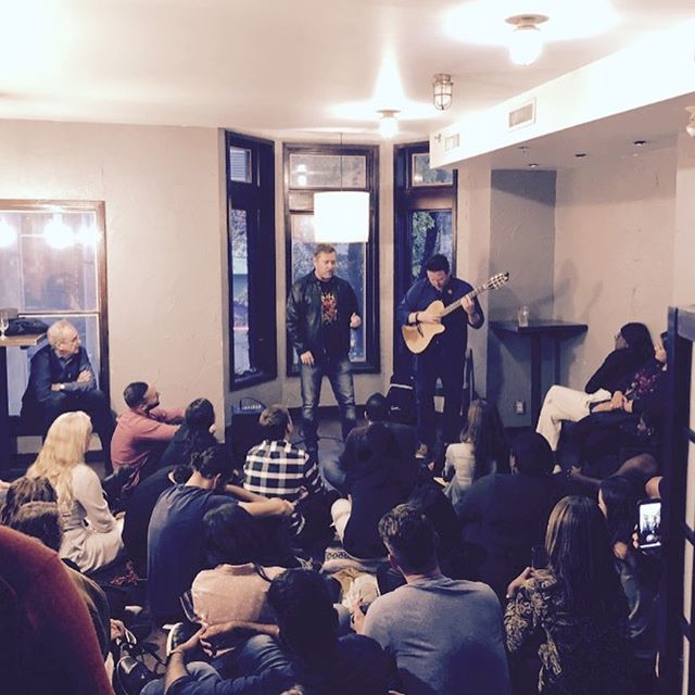 Great time performing with @terrencejonartist @sofarsounds @sofartoronto last night !!