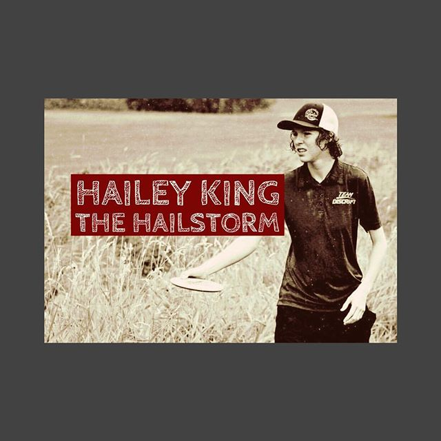 Discraft's Hailey King will be competing this year against the top female players. Check out her story⛓LINK IN BIO⛓