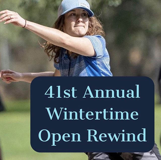 41st Annual Wintertime Open - Rewind ⛓article link in bio⛓