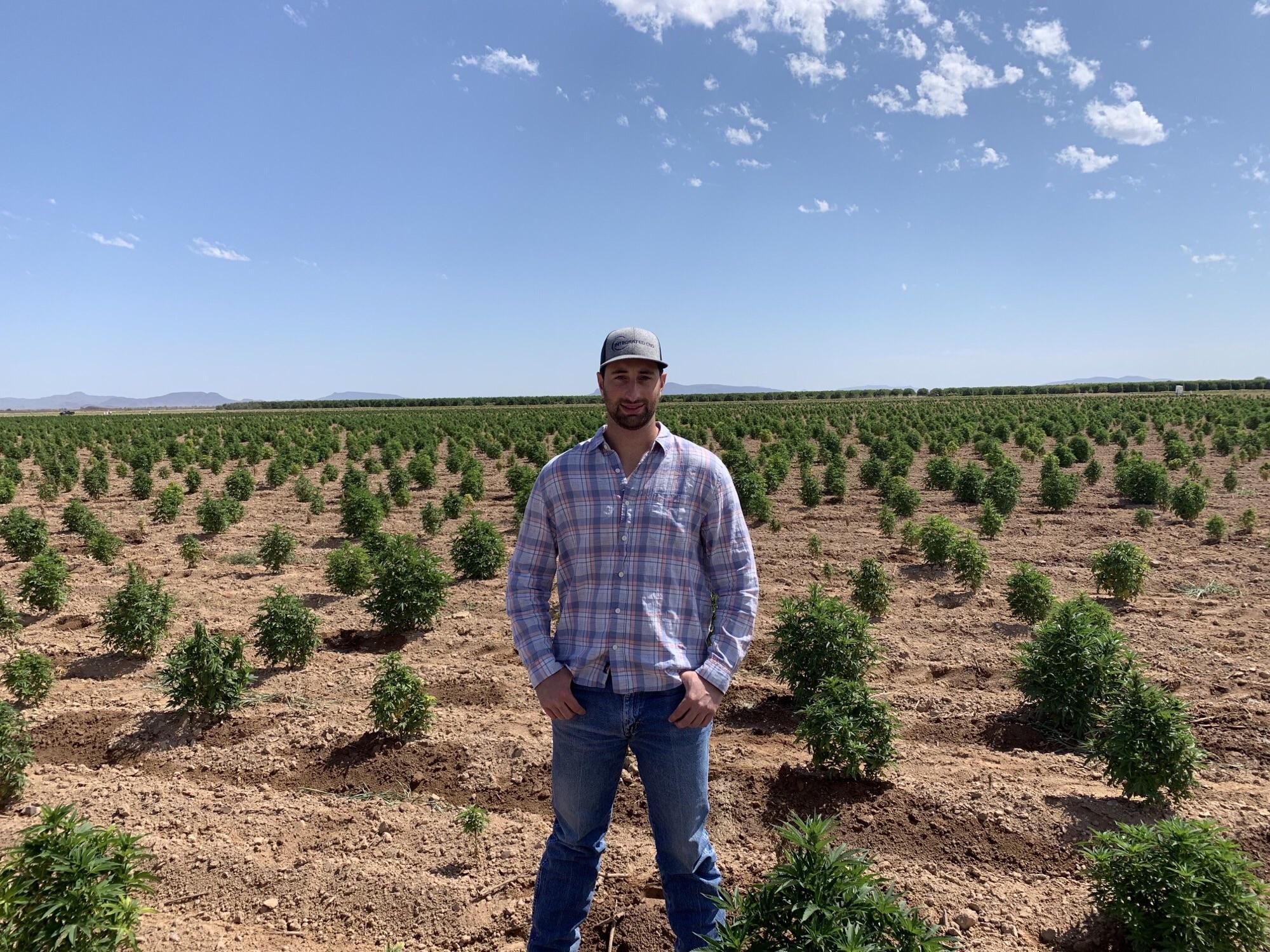 Richard Phelps, Integrated CBD's Director of Farming.