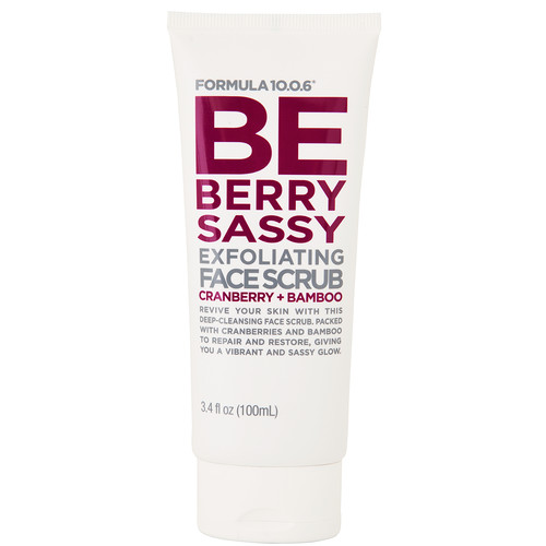 Be Berry Sassy Exfoliating Face Scrub ($6.99)