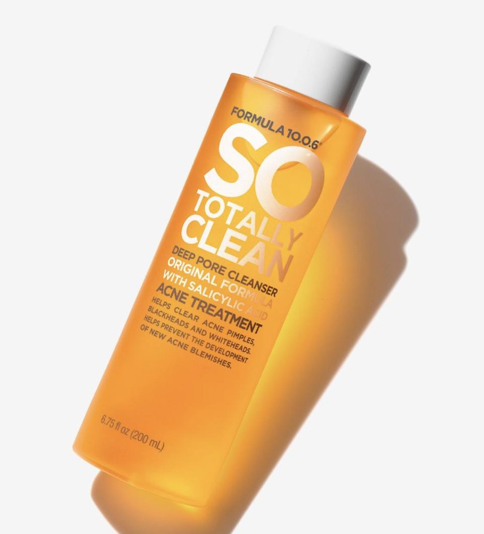 So Totally Clean Deep Pore Cleanser ($5.99)