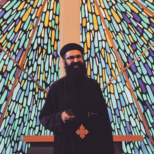 """It's time for Friday Introductions! Have you met Fr. Suriel Costandi? … The Pigori Productions team is incredibly grateful for Fr. Suriel's guidance and leadership. Fr. Suriel Costandi is the priest at St. Mary Coptic Orthodox Church in Delray Beach, Florida. On July 23, 2017, His Grace (""""H.G."""") Bishop Youssef ordained Fr. Suriel as priest, with the presence of His Eminence (""""H.E."""") Metropolitan Serapion and H.G. Bishop Peter. Fr. Suriel has served within the Diocese of the Southern United States since his ordination, and has directed the initiation of St. Luke's American Coptic Orthodox Fellowship located in Deerfield Beach, Florida with the support of H.G. Bishop Youssef. The community involvement and outreach has since allowed us to build upon the fellowship with our parent church, St. Luke American Coptic Orthodox Church. In addition to his responsibilities as priest of St. Mary Coptic Orthodox Church and St. Luke American Coptic Orthodox Church, Fr. Suriel graciously serves as an active member of the Pigori Productions team. … To learn more about St. Luke's American Coptic Orthodox Church or Coptic Orthodoxy more generally, Fr. Suriel Costandi may be contacted by email at abounasuriel@gmail.com. … #priest #orthodoxpriest #copticorthodox #orthodoxchristian #orthodox #orthodoxy #abouna #film #christianfilms"""