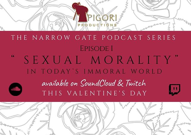 Join Pigori Productions this Valentine's Day as the Narrow Gate podcast debuts its first episode. Be sure to follow us on SoundCloud and Twitch!