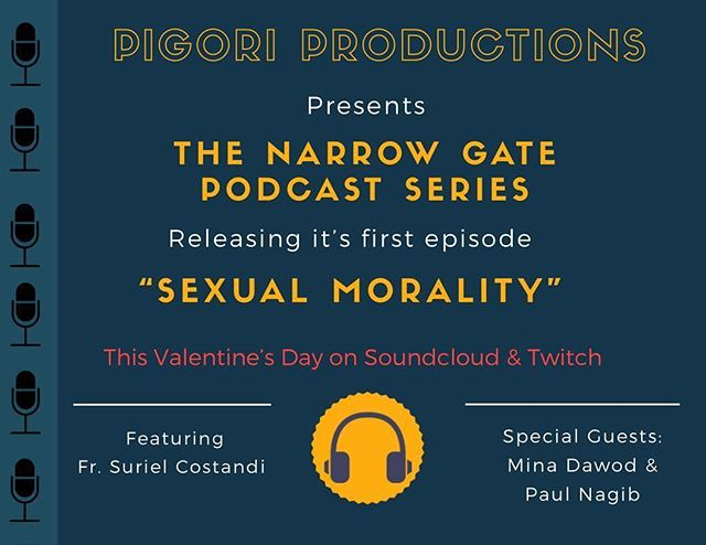 Get ready for our first episode of the Narrow Gate podcast series featuring Father Suriel Costandi and special guests Mina Dawod & Paul Nagib. The episode will be available TOMORROW on SoundCloud and Twitch