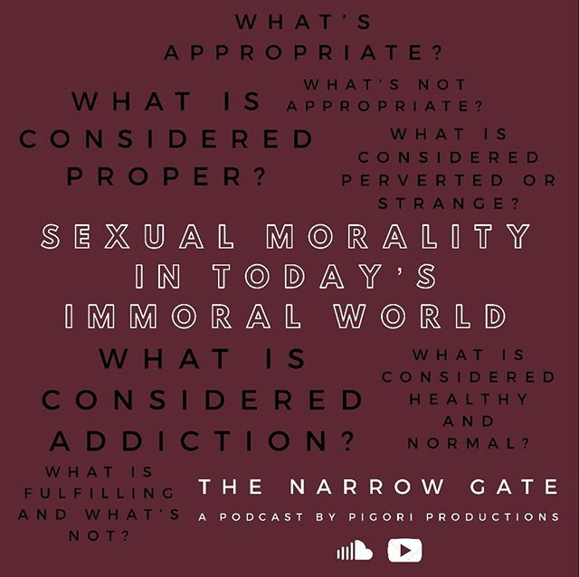 What's fulfilling and what's not? Open our NarrowGate podcast to find out today!!! #orthodoxy #relationships #christianity #christians #love #sin #sexuality #dating #courtship #fulfillment #satisfaction  SoundCloud: http://ow.ly/N5Aa50lmb1b  YouTube: http://ow.ly/MIq750lmb19