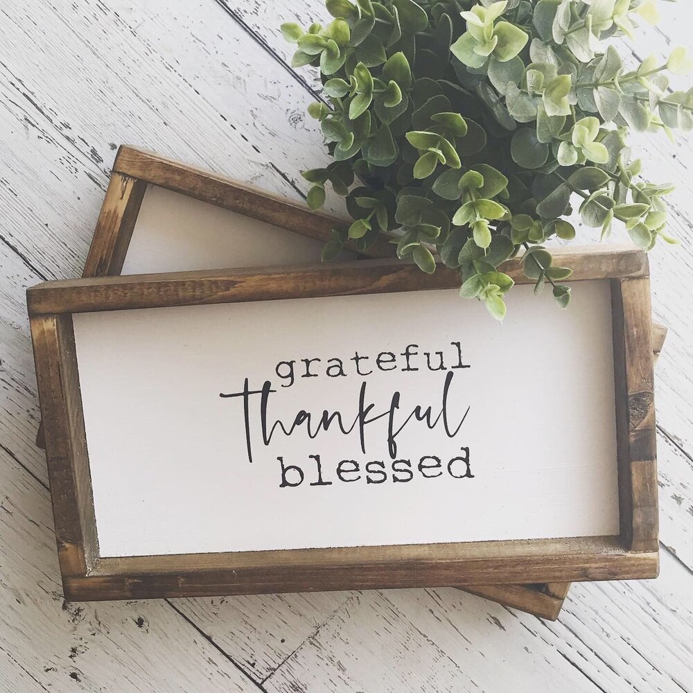 Grateful Thankful Blessed Lumber Chaos