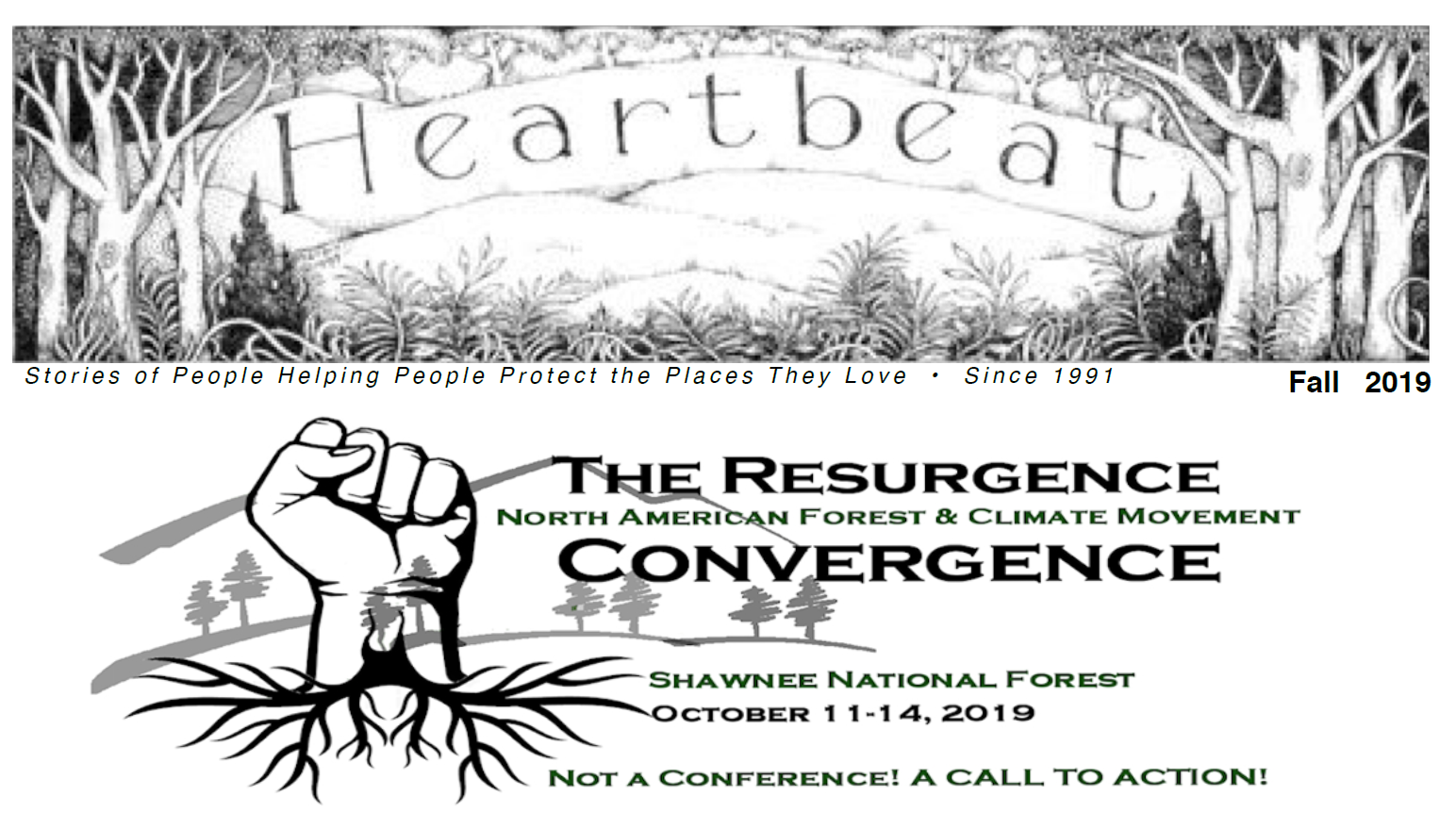 Latest Edition of the Heartwood promotes the Convergence!