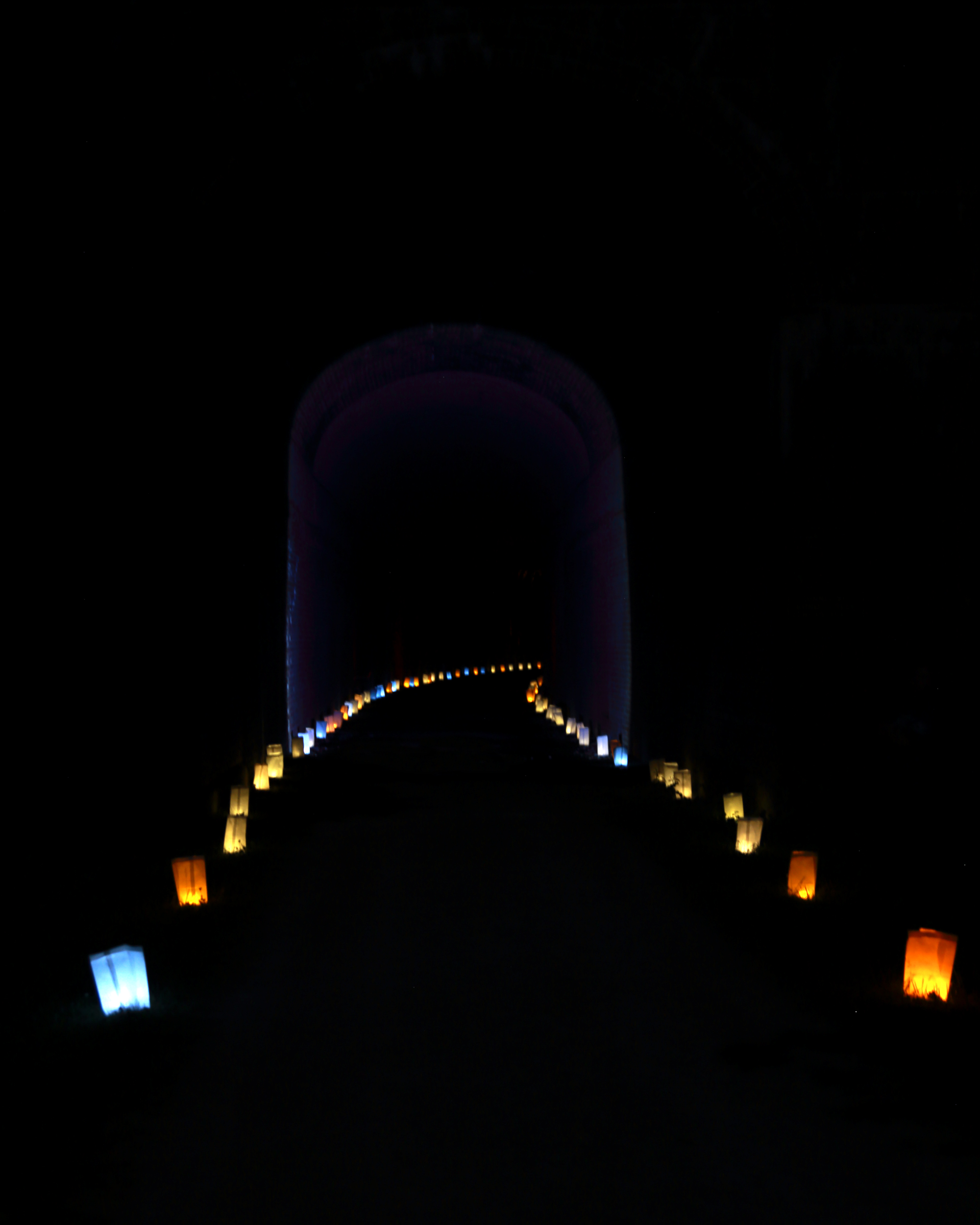 Annual Luminary Hike near North Bend State Park