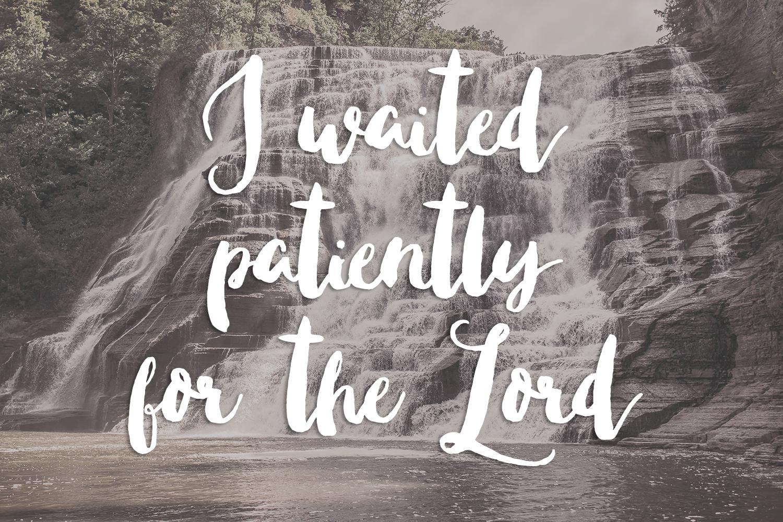 Write 31 Days: Praying the Psalms   sarahsandel.com   Psalm 40