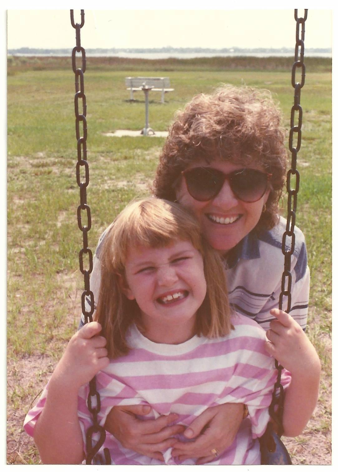 sarah sandel   on mother's day