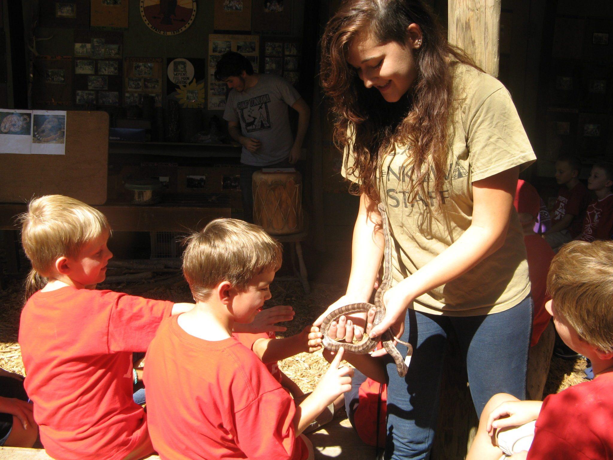 Sarah's pet snake