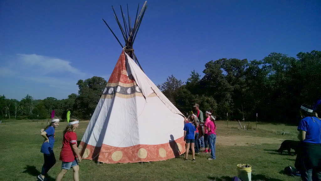 Native American Indian Camp — Camp Tonkawa