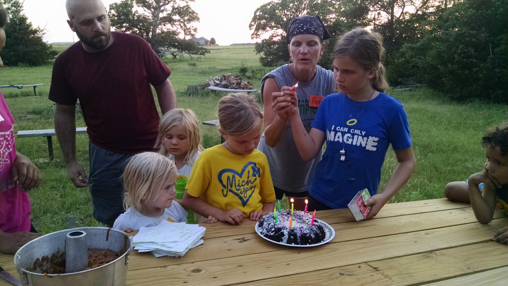 Family birthday event