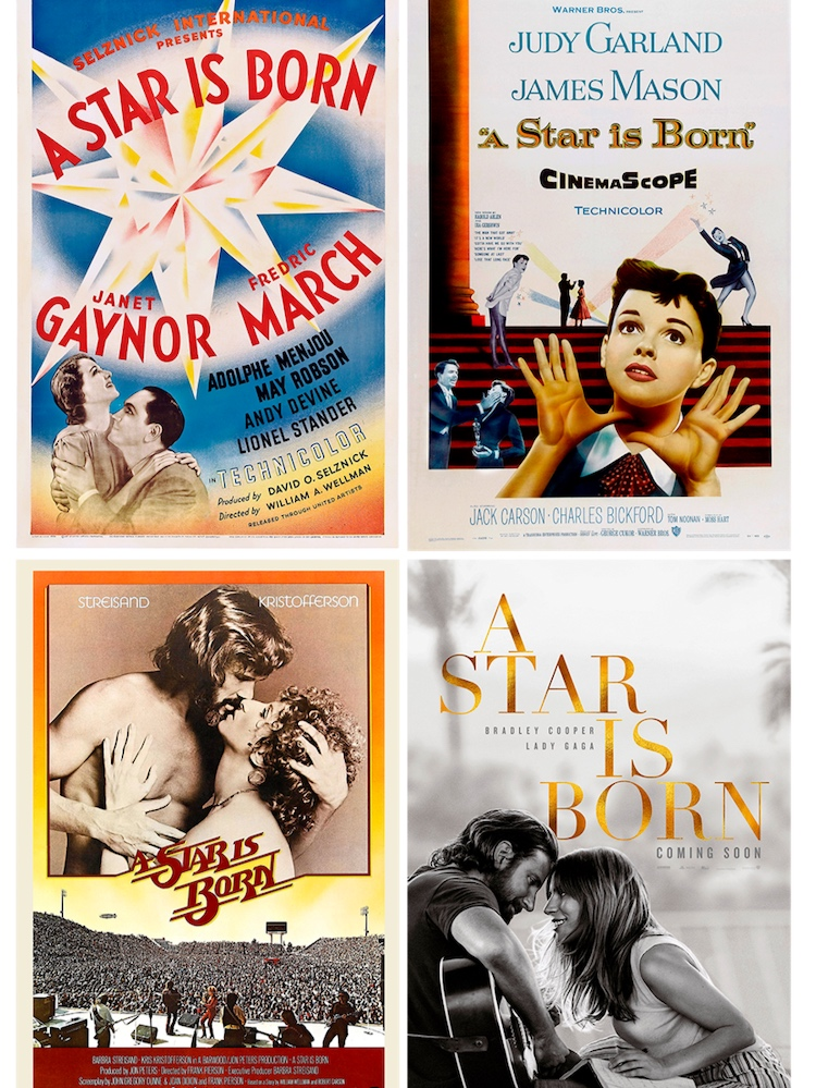 """The four posters of the """"Stars""""!"""