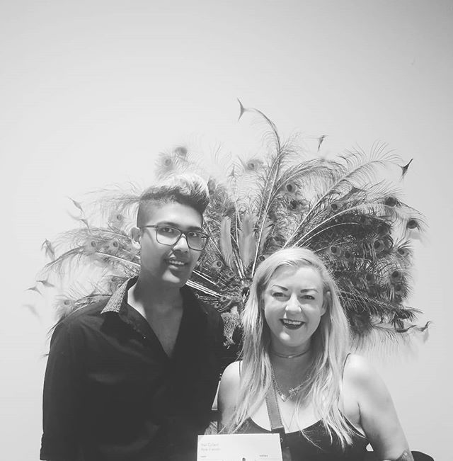 Extraordinory boss lady Amber and emerging stylist Michael from Glory! They are joining Hair Collect and we're privileged to have them partnering with us