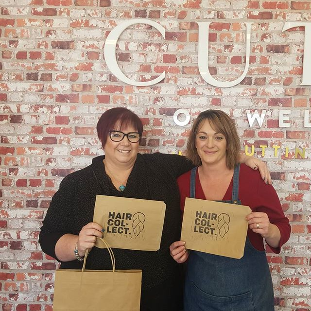 Toni and Tarns from Cutz on Weld with the goods! 📦 Excited to have them partnering with us in Blenheim ☀️ #changingcommunities  #blenheim