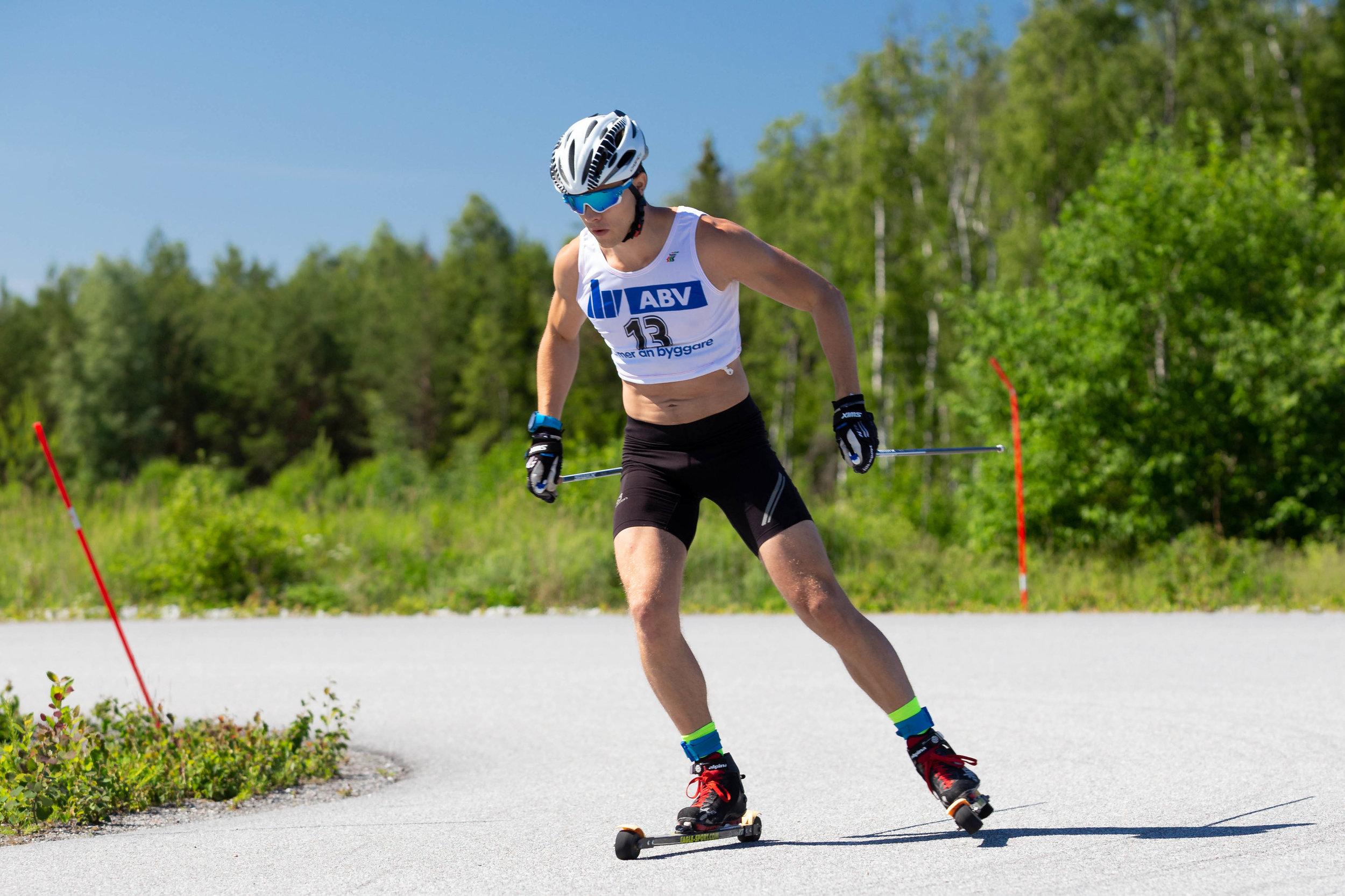 Marcus Look, XC Sthlm, Arlanda Roller Ski Race 2019