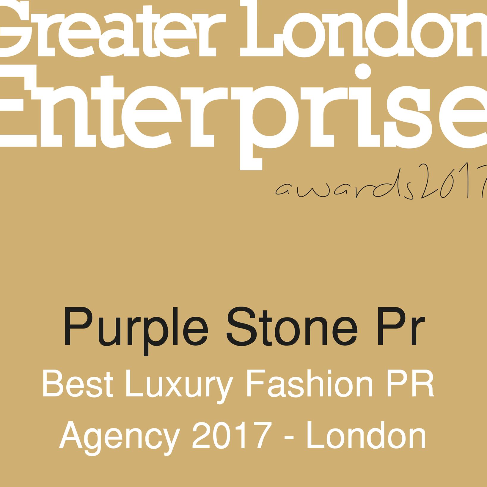 Best Luxury Fashion PR Agency 2017 London - Purple Stone PR - SME Awards.png