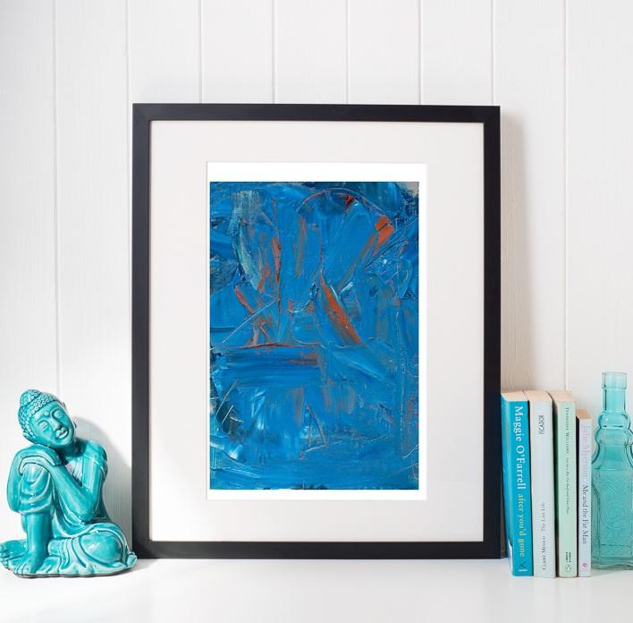 Portrait of Blue