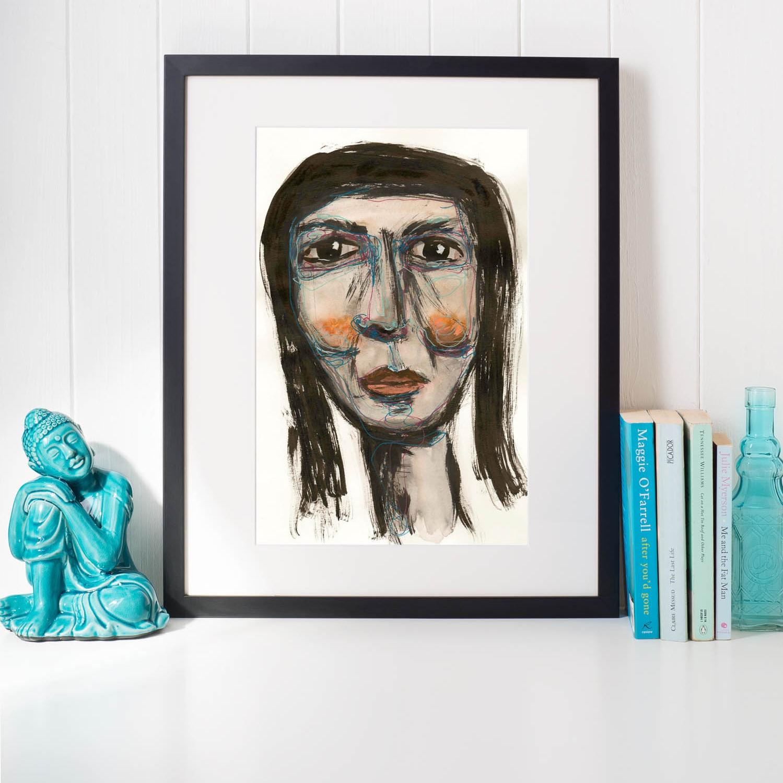Doodle face