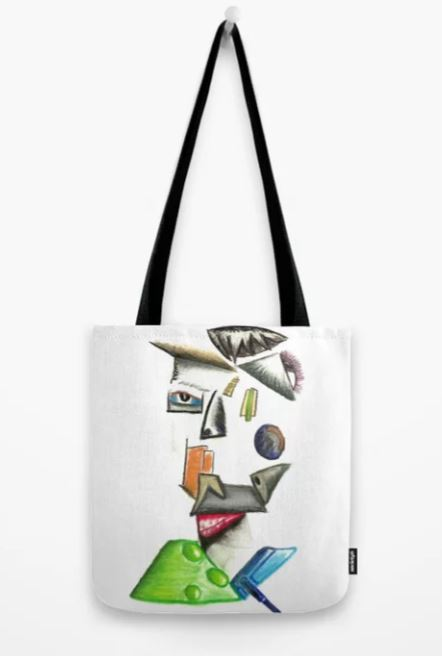 Working for the Man Tote Bag