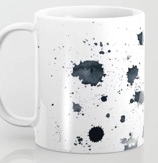 Ink Splat Coffee Mug