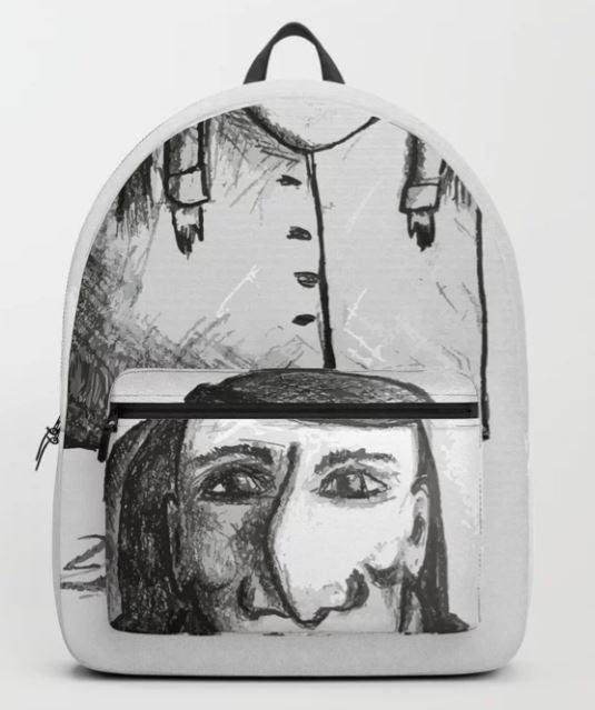 Bent Nose Man Backpack