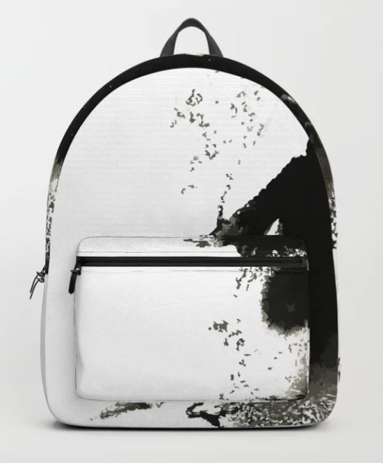 Ink Lace lady Backpack