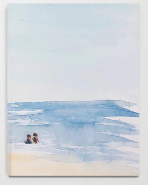 Three on a Beach Notebook