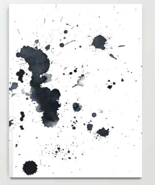 Ink Splat Notebook