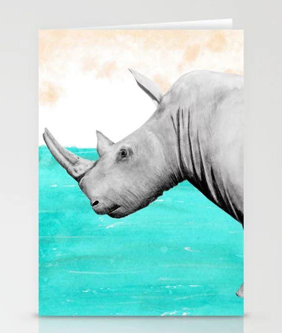 Rhino card Earth Stationary Cards