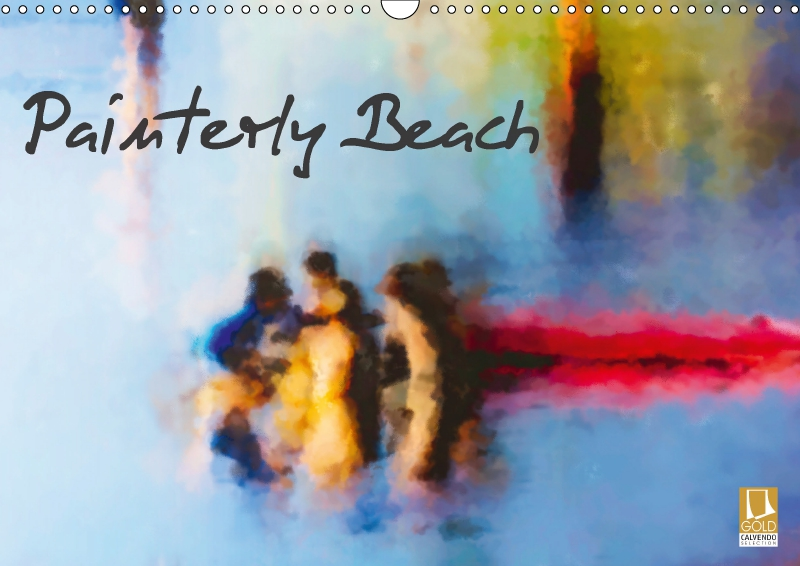 Painterly Beach