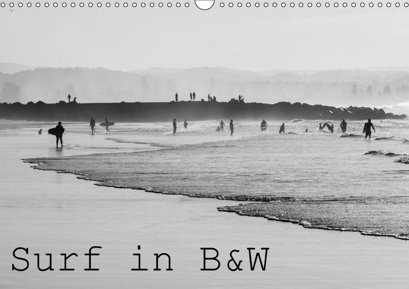 Surf in B&W